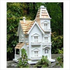 Home Bazaar Classic Series Victorian Manor Free Standing Bird House