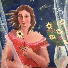 Pintura da artista Yara Tupinambá! Disney Characters, Fictional Characters, Disney Princess, Artists, Artworks, Fantasy Characters, Disney Princesses, Disney Princes