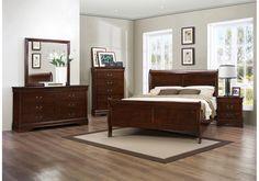 Lacks | Mayville 4 Pc Queen Bedroom Set