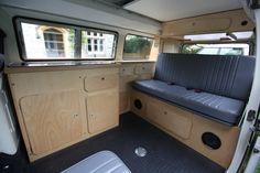 New design Interiors Vw T3 Camper, Vw T1, Camper Van, Volkswagen, Campers, Motorhome, Van Home, Day Van, Campervan Interior
