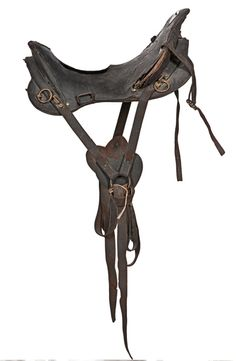 19th century civil war saddle