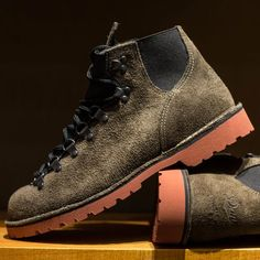 Vertigo 1022X Gray Suede Boots by Danner, Men's Fall Winter Fashion.