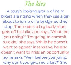 The Kiss – Funny Story !!!