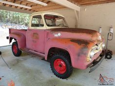 Vintage Pickup Trucks, Ford Pickup Trucks, Ford 4x4, Small Trucks, Cool Trucks, Lifted Chevy Trucks, Chevy Chevrolet, Old Fords, American Pickers
