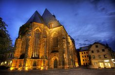 The Cathedral in Halle, Germany by Stuck in Customs, via Flickr
