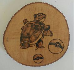 Check out this item in my Etsy shop https://www.etsy.com/ca/listing/463206676/blastoise-pokemon-wood-burning