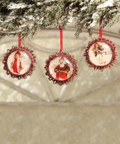 Christmas Time Ornaments from The Holiday Barn