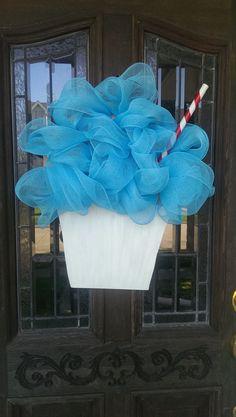 New Orleans Sno-Ball Door Hanger www.facebook.com/designsbydeanie