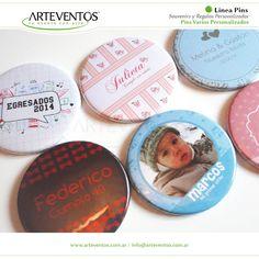 Pins Personalizados Elegí tu diseño! Llaveros - Destapadores - Espejos - Imanes - Prendedores - Broche porta papeles -