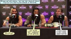 Almost losing the love of his life has left Dean traumatised.. #deanambrose #romanreigns #sethrollins pic.twitter.com/nhk08CvG3y