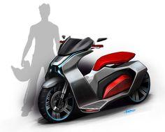 Volturo - development of a scooter brand