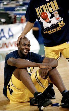 Webber Chills, '93 Final Four.