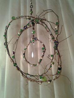 Green Dream Fairy Ring Sun Catcher by CherylwoodForest on Etsy