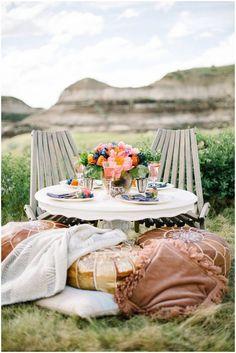 The Badlands of Albert Desert Oasis Wedding Inspiration