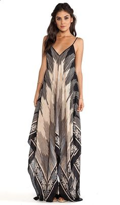 Absolutely love scarf dresses. Summer want.