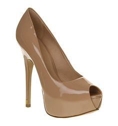 Office Reim Nude Patent - High Heels size 9    *out of stock*