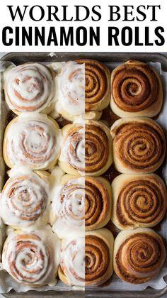 Best Cinnamon Rolls Recipe - Cooking Classy - Better Than Cinnabon Cinnamon Rol. - Best Cinnamon Rolls Recipe – Cooking Classy – Better Than Cinnabon Cinnamon Rolls – The best - Cinnamon Roll Icing, Cinnabon Cinnamon Rolls, Best Cinnamon Rolls, Cinnamon Recipes, Baking Recipes, Dessert Recipes, Lemon Desserts, Pioneer Woman Cinnamon Rolls, Cinnamon Bread