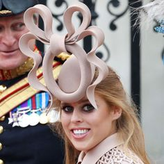 Only the British can rock hats like this