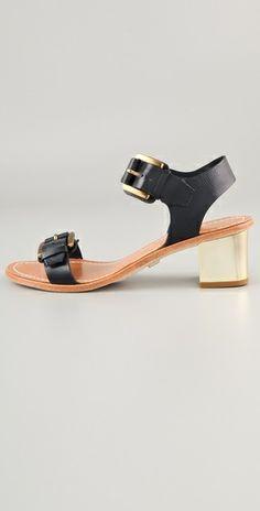 Pour La Victoire Ilissa Low Heel Sandals | SHOPBOP ($200-500) - Svpply