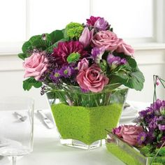 flower arrangements centerpieces | ... arrangements can be duplicated in the colors of your choice for your