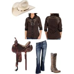 Barrel Racing by bullridingirl on polyvore