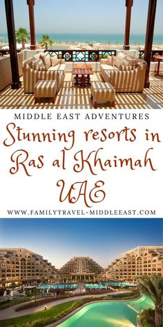 Looking for a vacation change - and to save some money - compared to Dubai resorts? Head to the northern Emirate of Ras al Khaimah. We take you through all our favourite family resorts for a luxurious and adventurous family retreat to RAK, UAE. Hawaii Honeymoon Resorts, Vacation Resorts, Amazing Destinations, Travel Destinations, Dubai Resorts, Unusual Hotels, Hotels For Kids, Best Hotels, Amazing Hotels