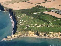 ✈️ Photo aérienne de Pointe du Hoc - Calvados (14)
