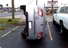 """""""Perpindicular parking"""" - it's the new parallel parking!"""