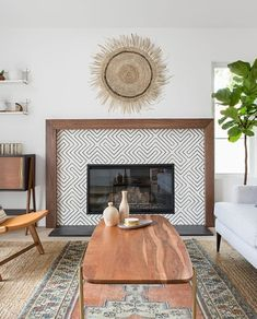 Fireplace Mantel Decor Ideas Fixer Upper Mantel Decorating Ideas Fireplace Mantel Decor Ideas Fixer Upper Mantel Decorating Ideas Cassie Gray cassiedgray For the house Here are 9 Fixer nbsp hellip Farmhouse Fireplace, Home Fireplace, Fireplace Remodel, Fireplace Ideas, Basement Fireplace, Fireplace Pictures, Simple Fireplace, Black Fireplace, Fireplace Tile Surround