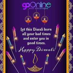 A very Happy and colourful Diwali. Happy Diwali, Bad Timing, Good Times, Digital Marketing, Color, Instagram, Colour, Colors