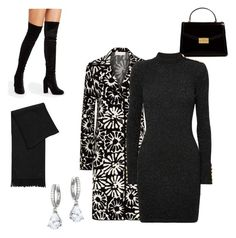 """""""Grown Up Outfit!"""" by winegrrl ❤ liked on Polyvore featuring Tory Burch, Balmain, Kate Spade and statementcoats"""