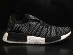 738c4b93f Cheap Men Adidas NMD R1 PK Core Black White CQ2386