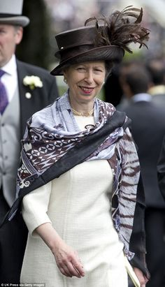 Princess Anne is the hardest working royal with 544 engagements under her belt for 2015. She also manages to combine business with pleasure including the second day of The Royal Ascot race meeting, on June 17 (pictured) on June 17