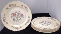 """Homer Laughlin Eggshell Georgian G3436 """"Rhododendron"""" 10"""" Dinner Plate"""