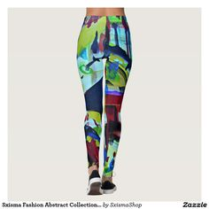 Shop Sxisma Fashion Abstract Leggings created by SxismaShop. Blue Leggings, Printed Leggings, Honeymoon Lingerie, Silk Stockings, Easy Halloween Costumes, Look Cool, Dressmaking, Fancy Dress, Things That Bounce