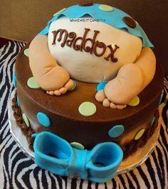 Baby bottom cakes