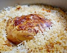 Fragrant Iraqi Chicken and Rice