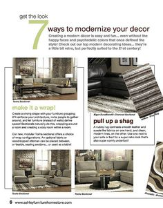 modern design september trendwatch by ashley furniture homestore eastman house patio kitchen clinton iowa