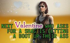 Cait Fallout 4 Valentine by blablover5