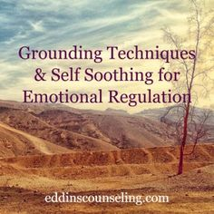 Grounding techniques are useful when we feel distressed, overwhelmed emotionally, triggered or mentally removed from the present moment.