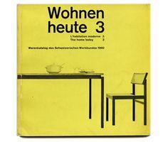 WOHNEN HEUTE 3, 1960.