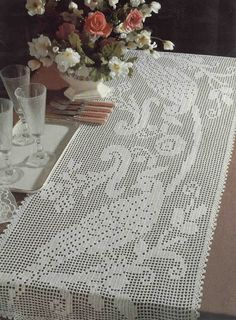 World crochet: Tablecloth 259