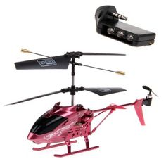 i55 iPhone / iPad Controlled 3.5-CH RC Helicopter w/ Gyro