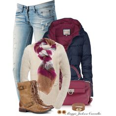"""""""Puffer jacket"""" by maggie-jackson-carvalho on Polyvore"""