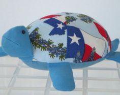 Texas Stuffed Toy Turtle/Pincushion