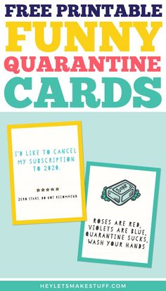 Under quarantine? Self distancing? When the world feels so dark, these cards will bring a smile to anyone's face. We hope these free funny printable quarantine cards will lift the spirits of someone you love! Funny Christmas Cards, Christmas Photo Cards, Christmas Photos, Christmas Wreaths, Free Printable Cards, Free Printables, Funny Nurse Quotes, Nursing Quotes, Nursing Memes