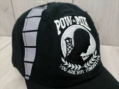 POW MIA Baseball Cap Adjustable Hat You Are Not Forgotten NEW #USServicesBrigade #BaseballCap