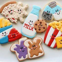 Food Themed Cookies