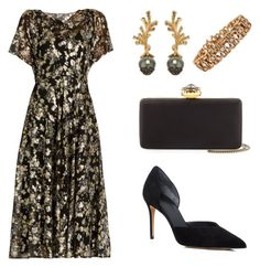 """""""Royal State Visit"""" by neeeea ❤ liked on Polyvore featuring Valentino, Vince, Alexander McQueen and Heting"""
