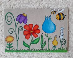 Flowers 🌺🌼🌸 . . . #flowers #drawing #coloring #prismacolorspencils #lovecolors #piirustus #värittäminen #kukkia #väritysterapiaa… I Card, Kids Rugs, Drawing, Painting, Home Decor, Decoration Home, Kid Friendly Rugs, Room Decor, Painting Art
